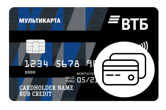 Кредитная Мультикарта ВТБ с опцией Коллекция