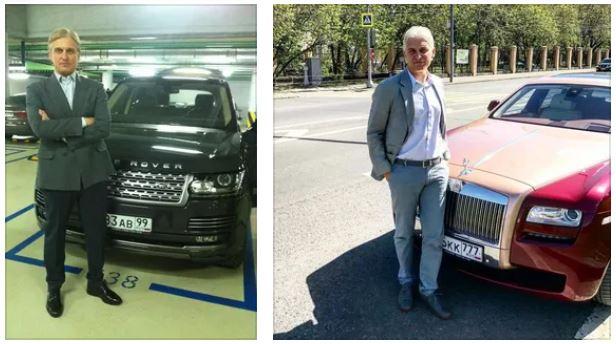 Автомобили Олега Тинькова